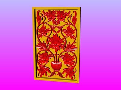 西洋花雕艺术3-3d打印模型