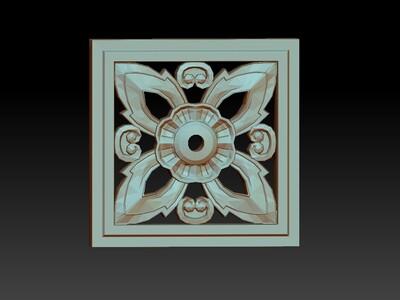 西洋花雕艺术4-3d打印模型