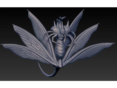 火影忍者七尾重明-3d打印模型
