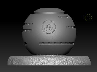 火影忍者风之国场景-3d打印模型