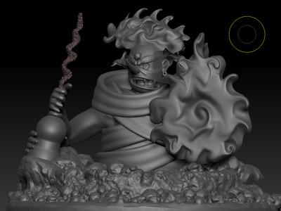 火影忍者须佐能乎鼬-3d打印模型