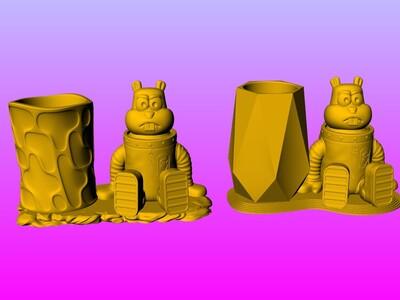 桑迪奇克斯笔筒-3d打印模型