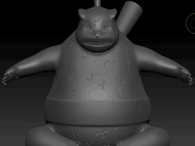 火影忍者佩恩通灵兽-3d打印模型