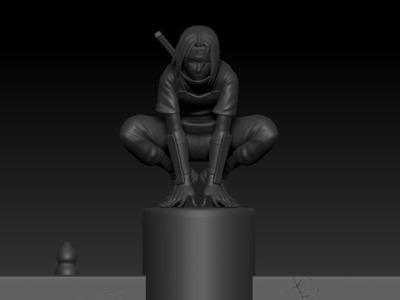火影忍者月夜鼬-3d打印模型
