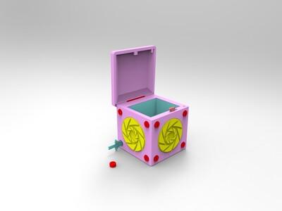 亦可的原创机关盒零件(开关)-3d打印模型