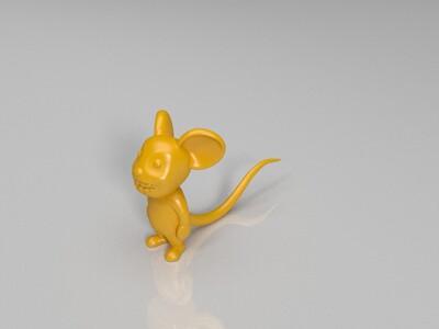 12生肖-老鼠 -十二生肖-老鼠-3d打印模型