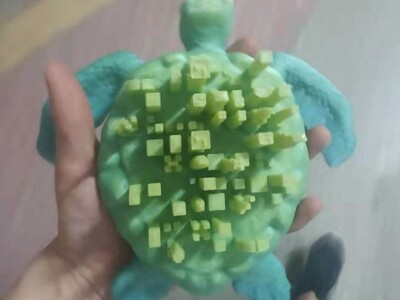 巨龟都市-3d打印模型
