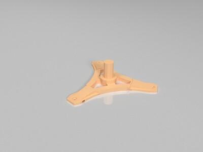 三角洲打印机送料架-3d打印模型