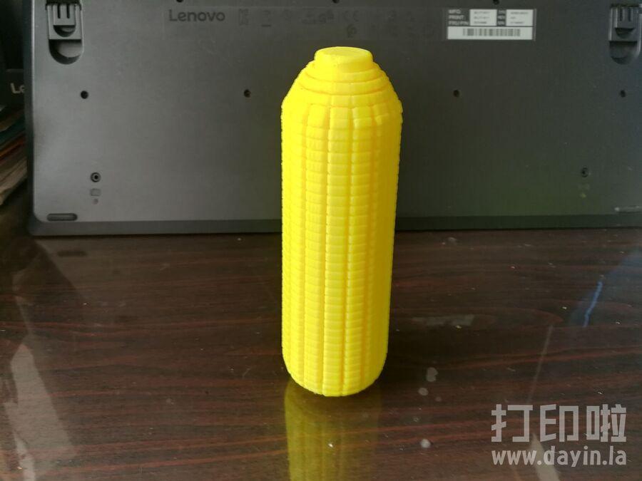 玉米-3d打印模型