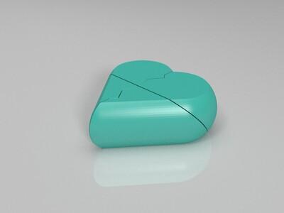 love-3d打印模型