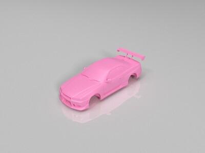 车顶-3d打印模型