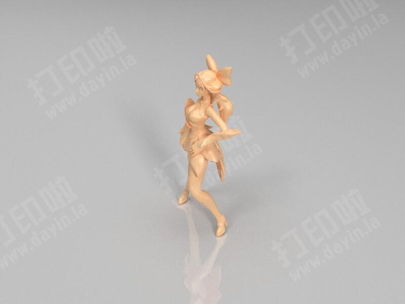 孙尚香-3d打印模型