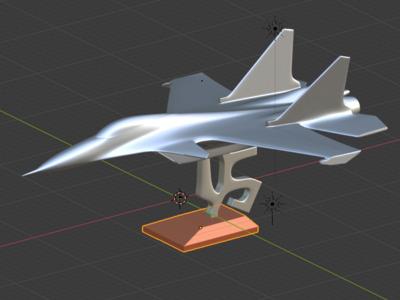 飞机摆件-3d打印模型