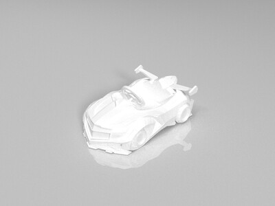 跑跑卡丁车-传说-凯迪拉克-3d打印模型