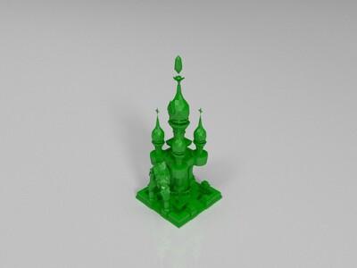 教堂-3d打印模型
