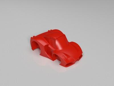 Q版法拉利-3d打印模型