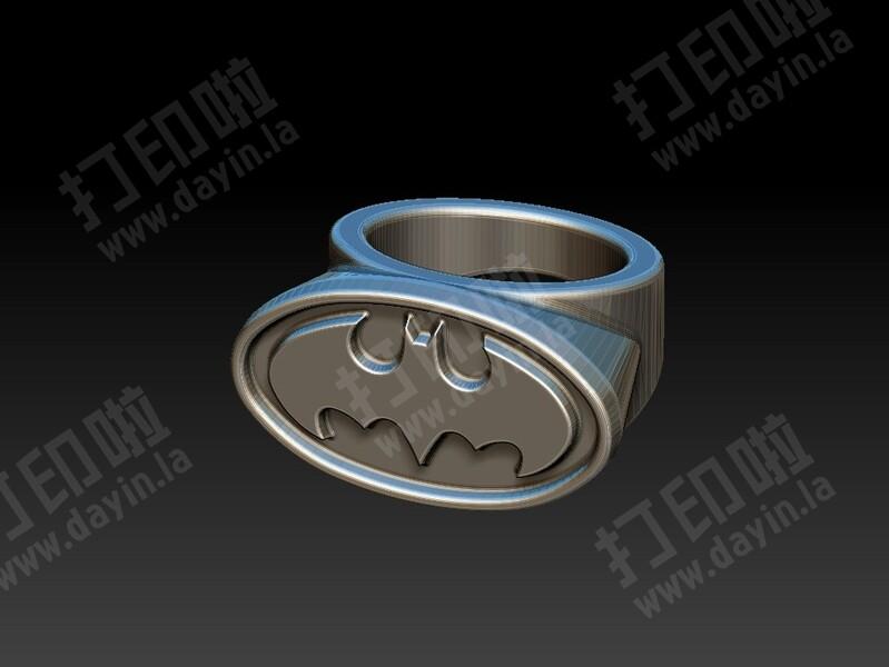蝙蝠侠戒子-3d打印模型