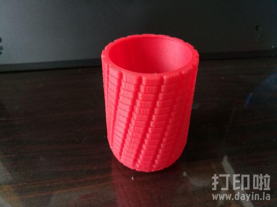 玉米笔筒-3d打印模型