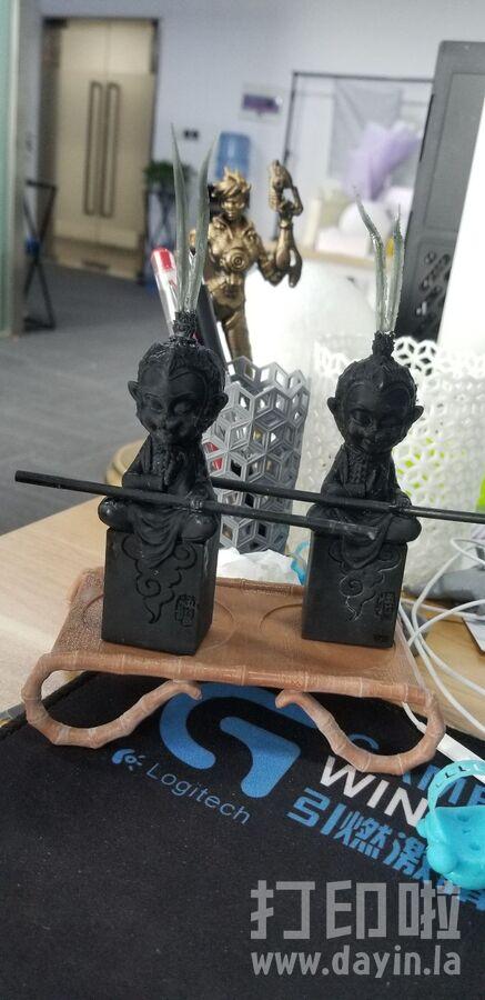 孙悟空 坐佛  ZB精雕 3d打印 ztl obj格式-3d打印模型