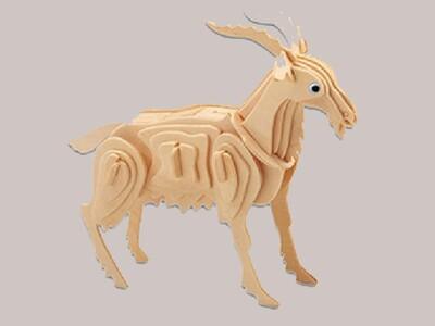 12生肖-立体拼图 羊-3d打印模型