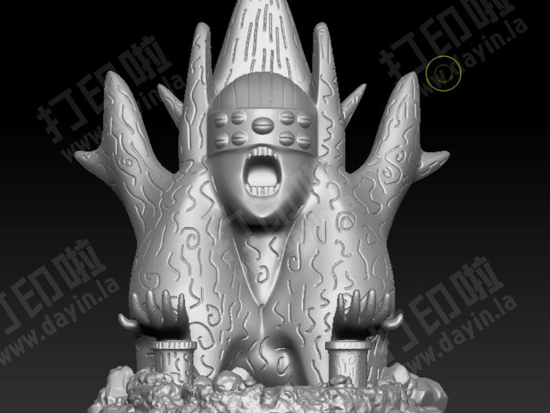 火影忍者外道魔像-3d打印模型