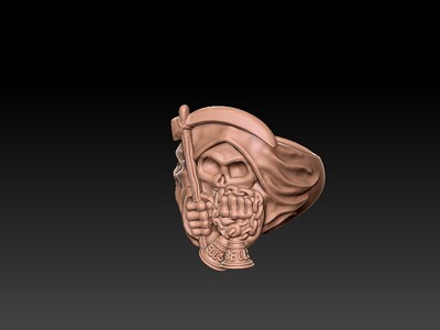 死神戒子 1-3d打印模型