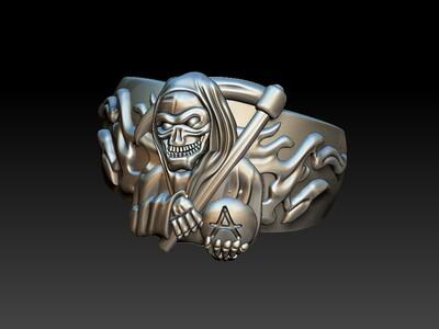死神戒子 3-3d打印模型