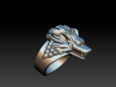 恶狼戒子-3d打印模型