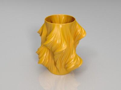 茱莉娅花瓶-3d打印模型