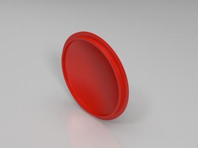 茶壶盖-3d打印模型