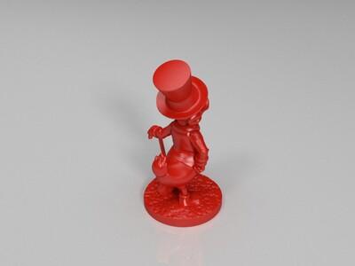 唐老鸭的叔叔-史高治-3d打印模型