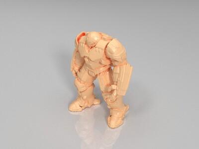 反浩克装甲-3d打印模型