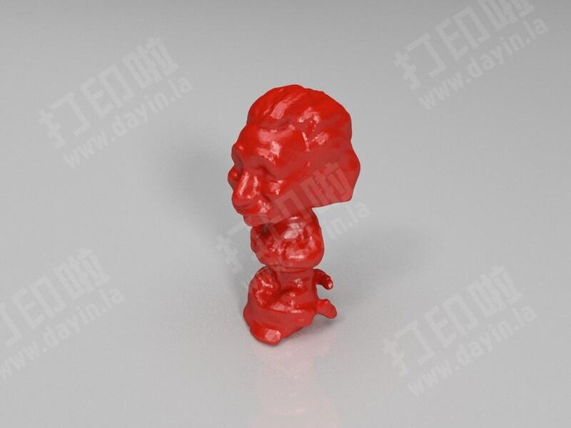 科学家头像-3d打印模型
