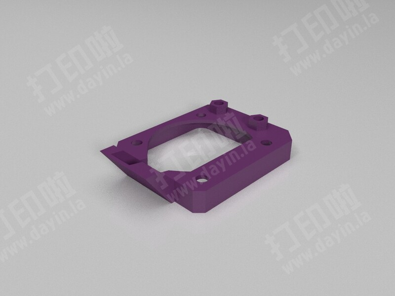 爱用散热-3d打印模型