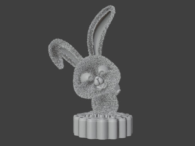 锐辰光电-月兔-中秋快乐-3d打印模型