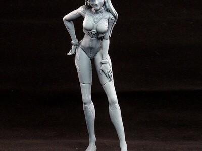 明日香 -3d打印模型