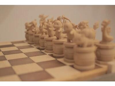 动物国际棋-3d打印模型