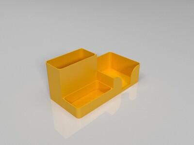 办公笔筒-3d打印模型