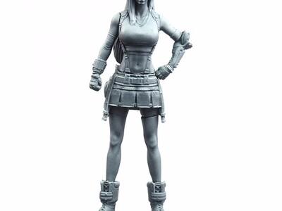 蒂法 最终 幻想-3d打印模型