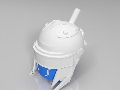 幻影战神-3d打印模型