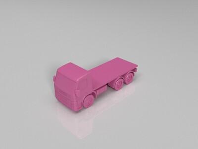 大卡车-3d打印模型