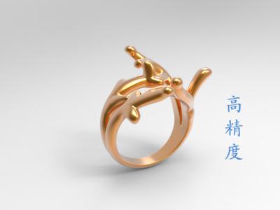 戒指-3d打印模型