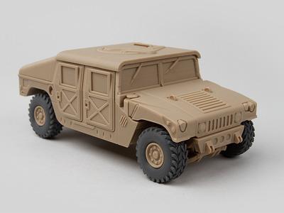 悍马H1-3d打印模型