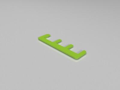 树莓派2代保护壳-3d打印模型