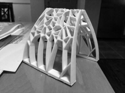 沃罗诺伊拱顶-3d打印模型
