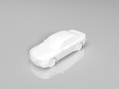 宝马bmw-3d打印模型