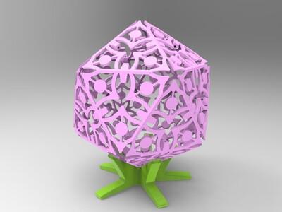 缕空组合灯-亦可原创-3d打印模型