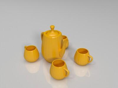 小茶具-3d打印模型