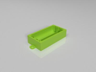 电池盒(七号)-3d打印模型
