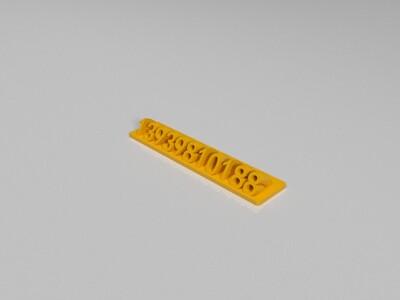 停车电话-3d打印模型